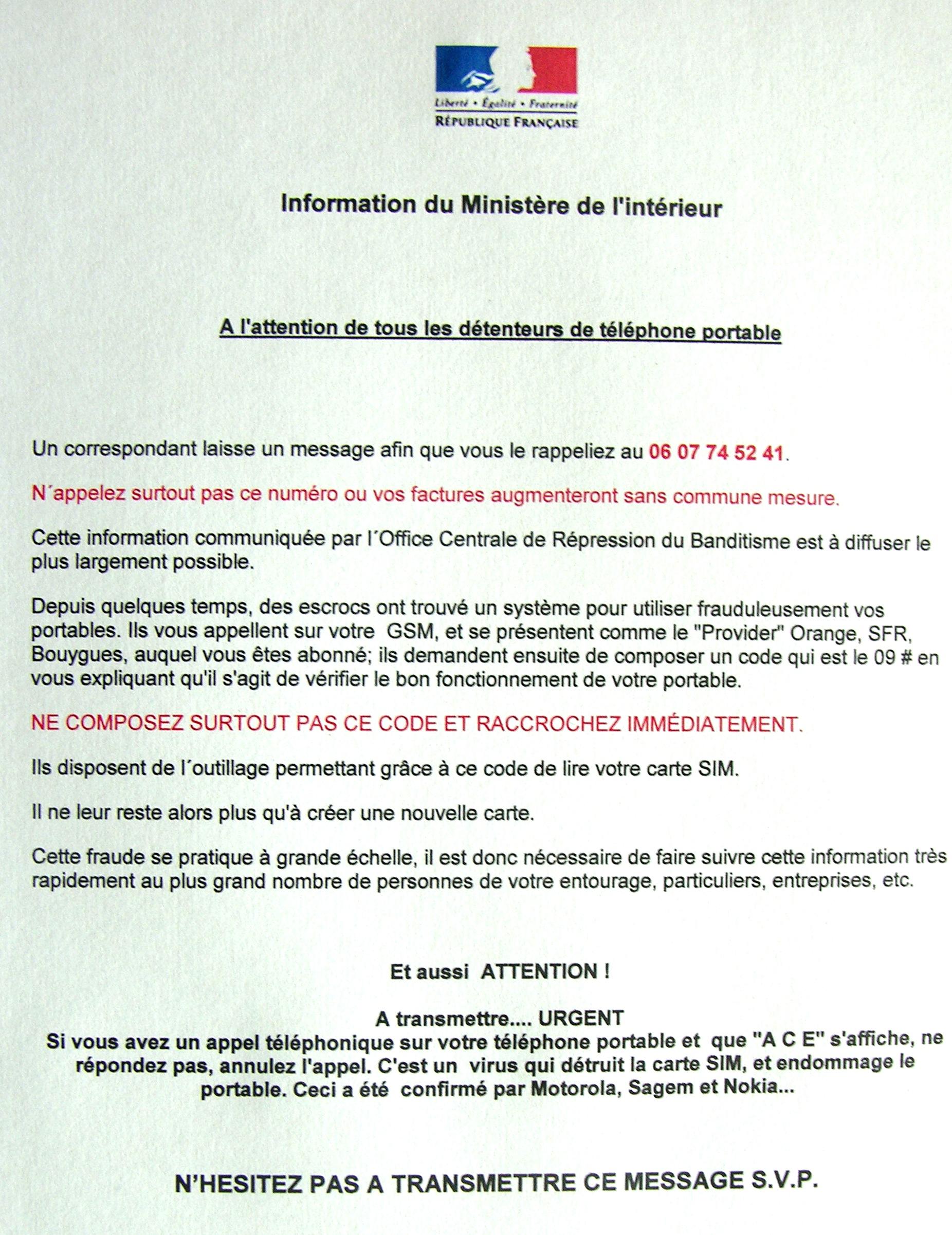 Best Numero Telephone Ministere De L Interieur Pictures - Trend ...